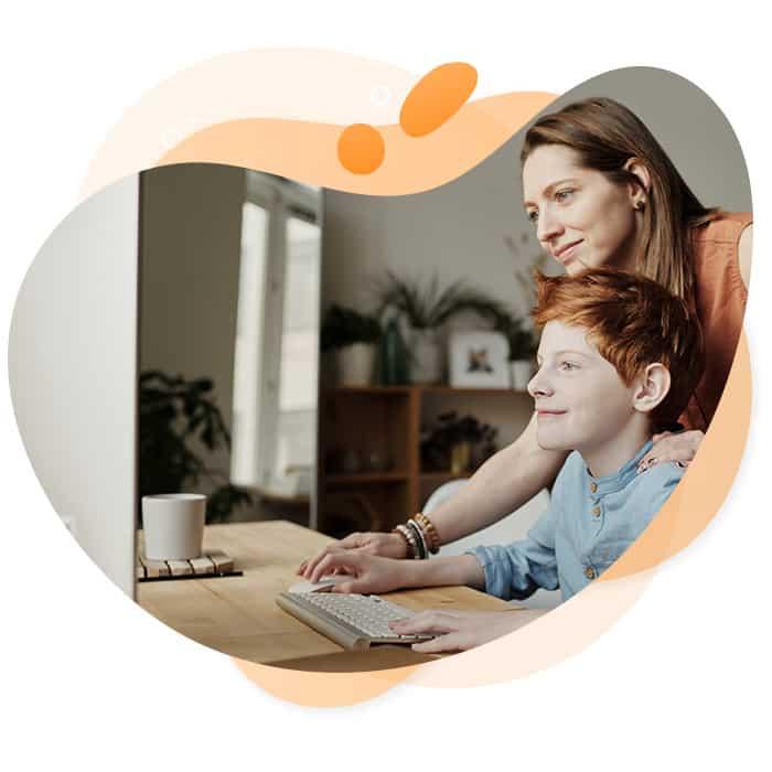Jede Menge Spaß mit unserer Online-Betreuung