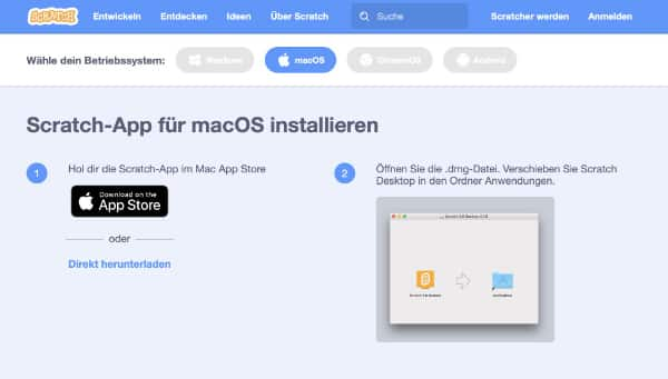 App macOS installieren