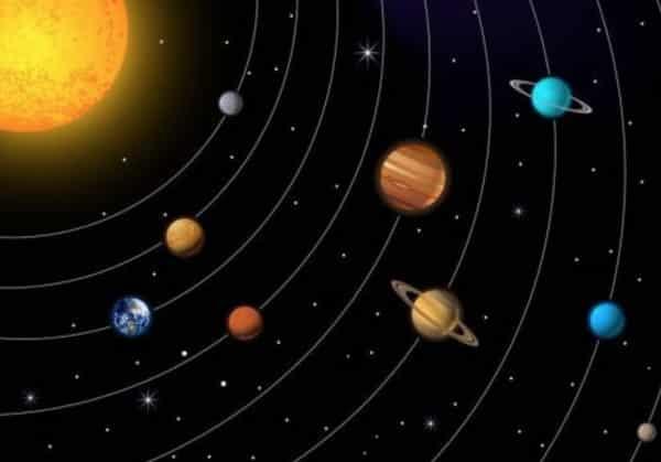 Astronomiekurse für Kinder Planetensystem