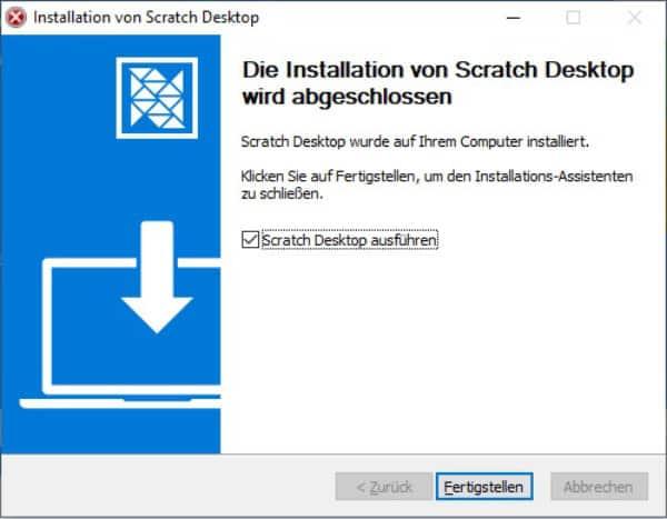 Installation Desktopversion Windows