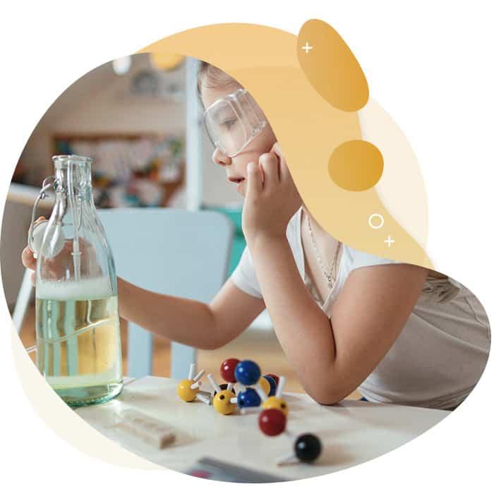Kindergarten Lernspaß Experimente für Kinder