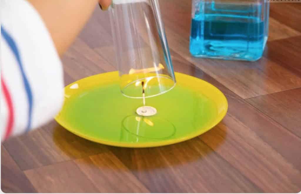 Physik für Kinder – Erzeugung von Unterdruck
