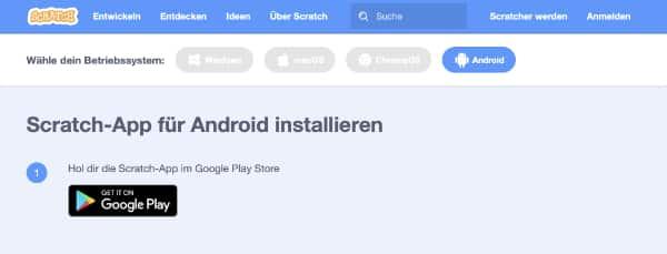 App Android installieren