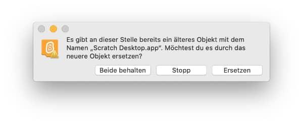 Update Desktopversion macOS
