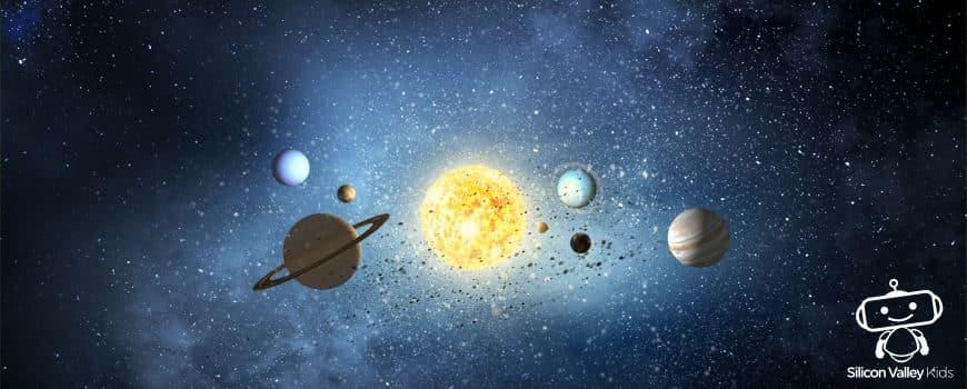 Das Sonnensystem für Kinder anschaulich erklärt