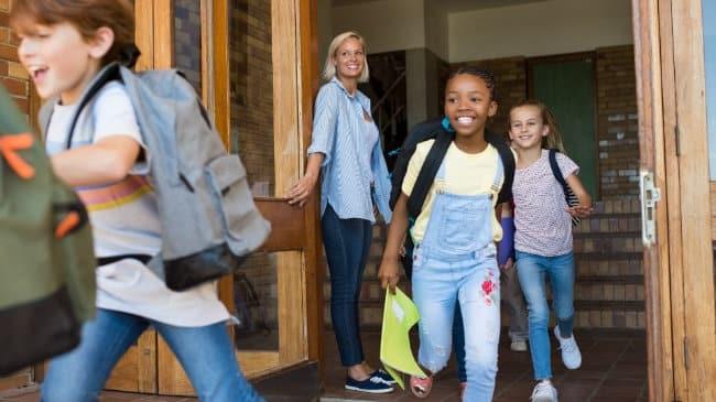 Ferien - Der letzte Schultag
