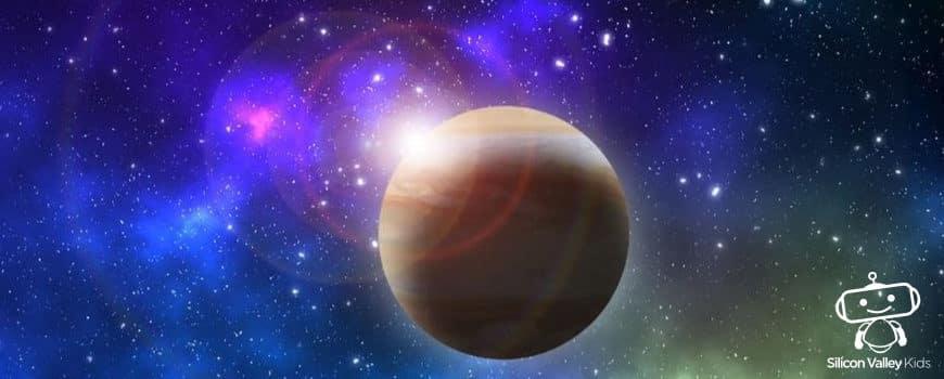 Jupiter Steckbrief - Erklärung für Kinder