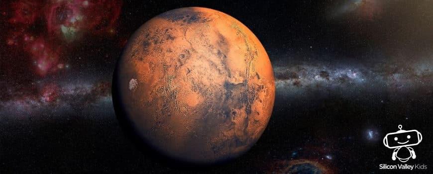Mars Steckbrief - Erklärung für Kinder