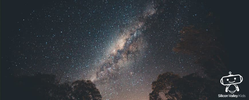 Milchstraße für Kinder einfach erklärt