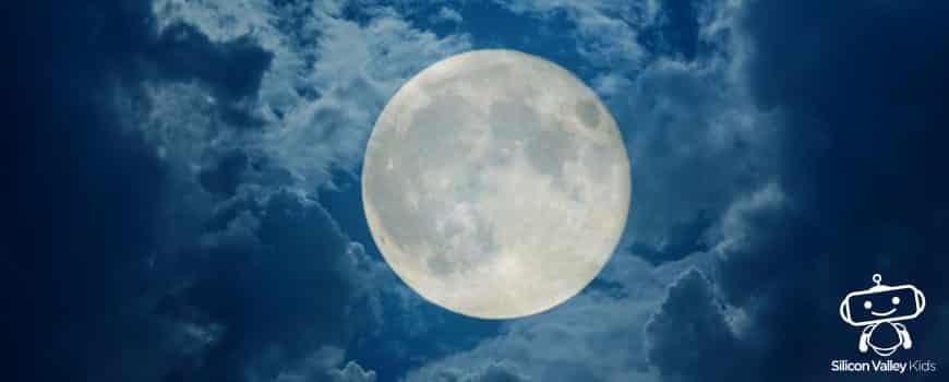 Mond Steckbrief – Erklärung für Kinder