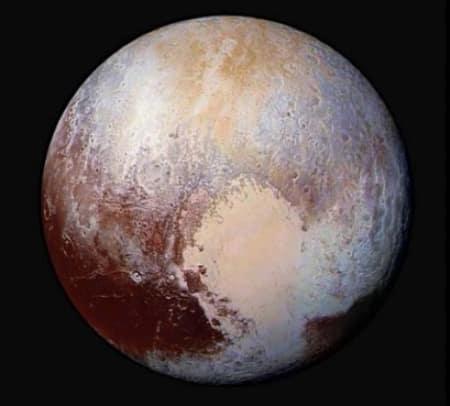 Pluto Steckbrief: Das Aussehen