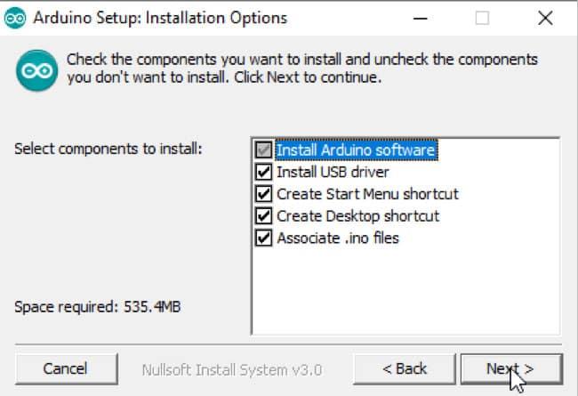 Die Programmkomponenten - Arduino Installation