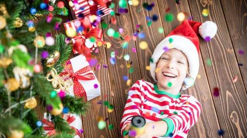 Spiel und Spaß bei der Kinderweihnachtsfeier