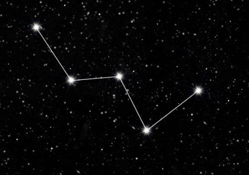 Sternbilder für Kinder - Cassiopeia