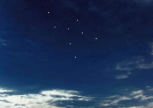 Sternbilder für Kinder Giraffe