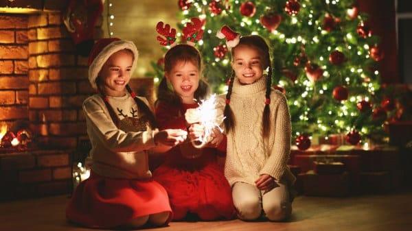 Weihnachtsferien: Feuerwerk für Kinder