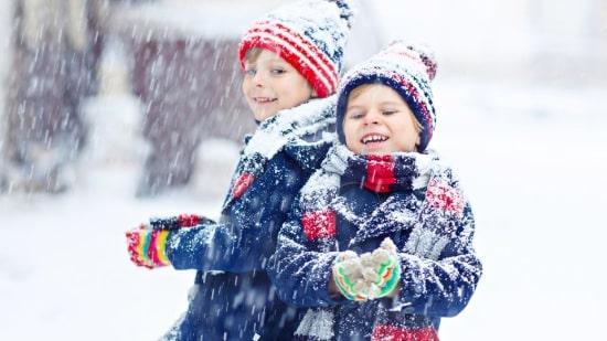 Erkundung der Umgebung in den Winterferien