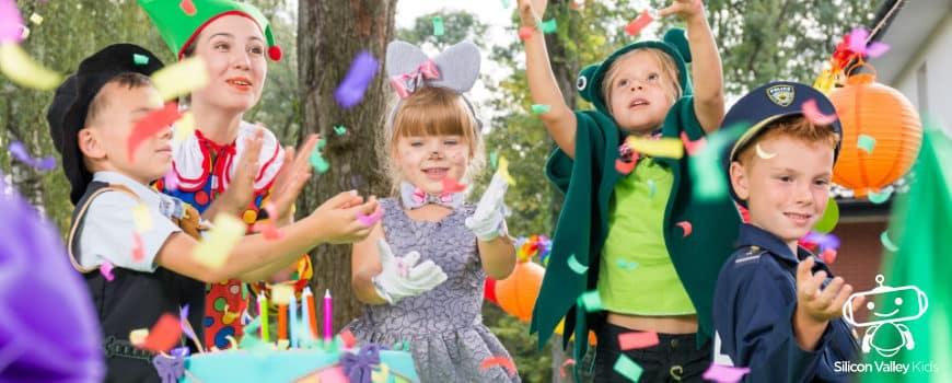 Kindergeburtstag Motto - zehn Ideen