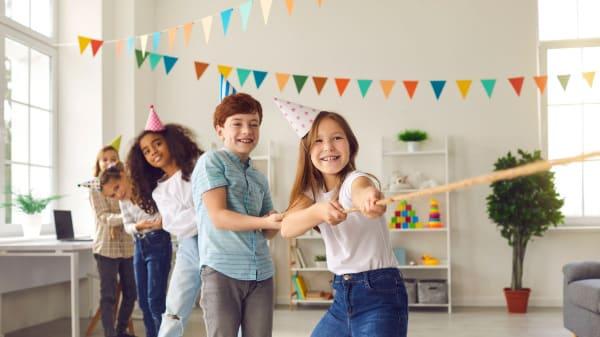 Kindergeburtstagsspiele - Ideen für Zuhause