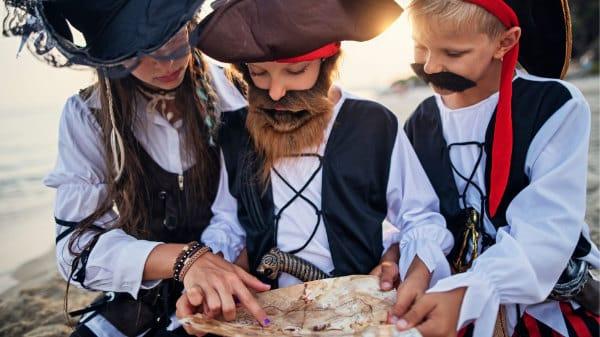 Piratengeburtstag - Spiel und Spaß