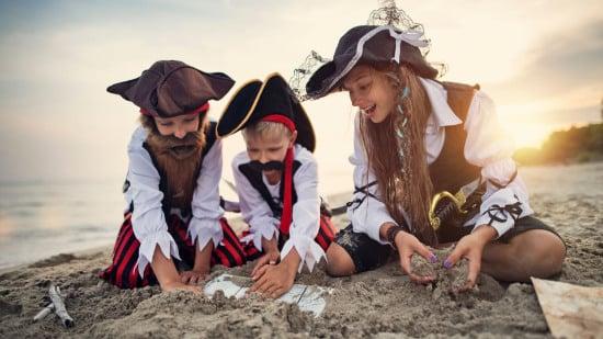 Schatzsuche für Kinder - Spiel und Spaß