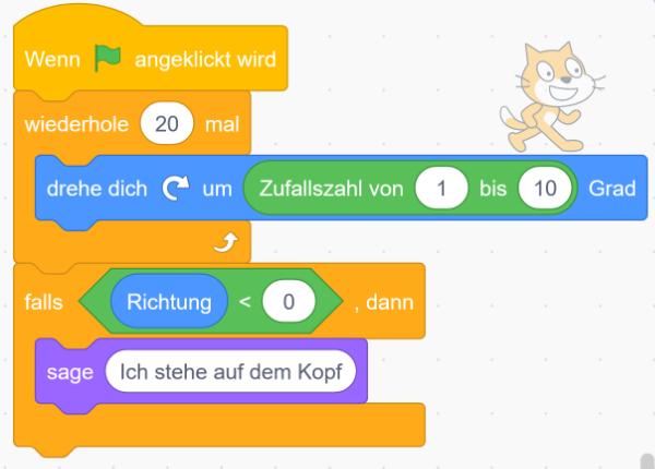 Scratch Desktop - Formen und Farben
