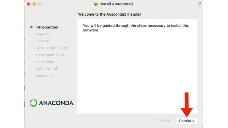 Anaconda in Python einrichten
