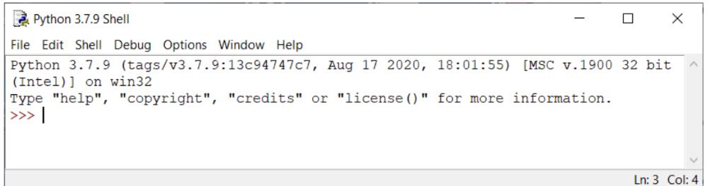 Entwicklungsumgebung in Python – Die Shell in Windows
