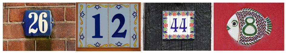 Am Beispiel der Hausnummern
