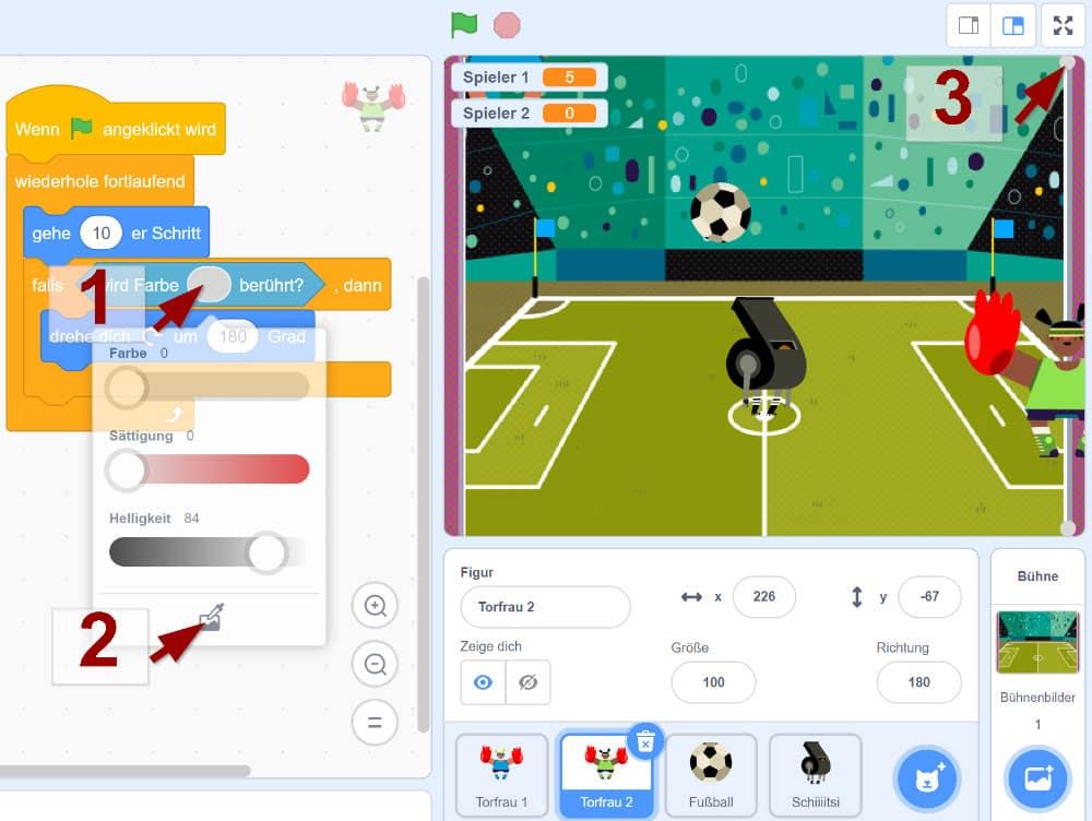 Ping Pong in Scratch – Den Spielgegner erstellen