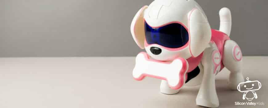 Spielspaß mit dem Roboter Hund
