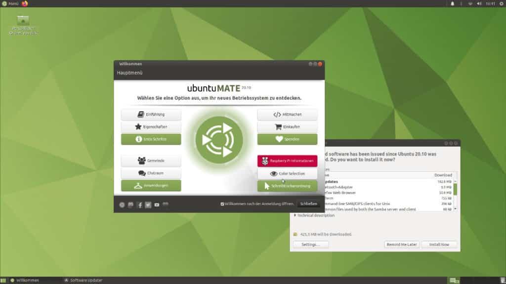Ubuntu Mate auf dem Raspberry Pi Desktop