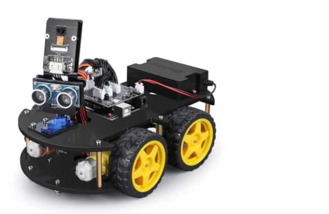 Ferngesteuerte Roboter – Das Rennauto