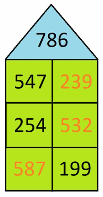 Beispiel für den Zahlenraum 1000