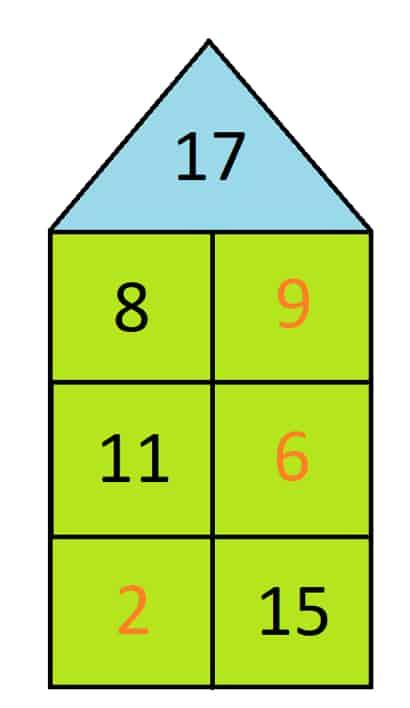 Beispiel für den Zahlenraum 20