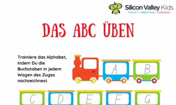 Buchstaben lernen – Eine einfache Übung