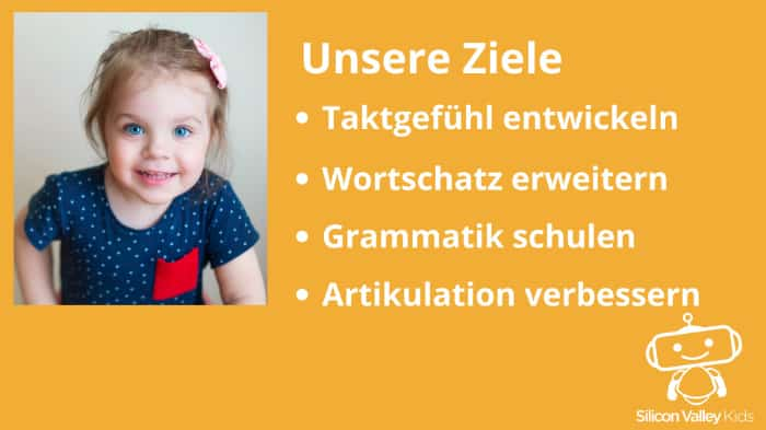 Ziele der Sprachförderung